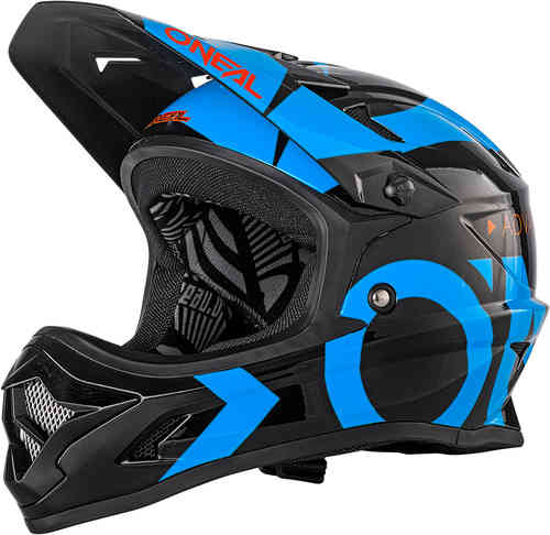 Oneal Backflip RL2 Slick Casco descenso Negro Azul S