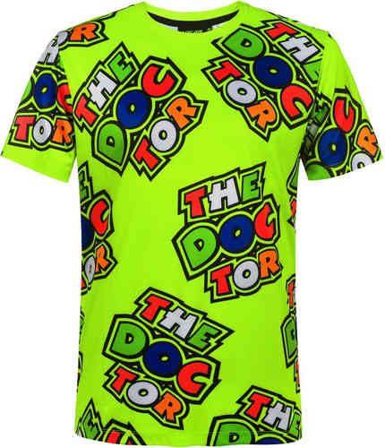 VR46 All Over T-shirt Amarillo 2XL