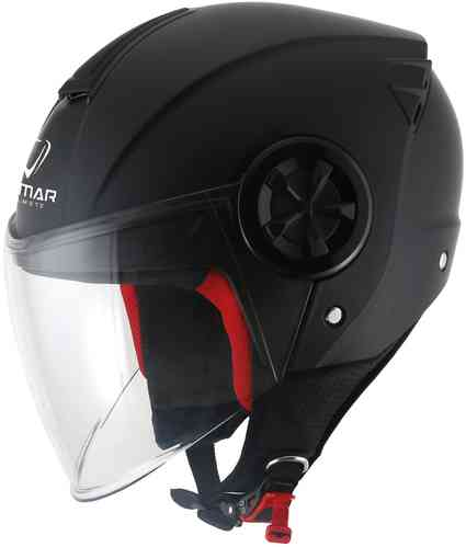 Vemar Air Solid Casco Jet Negro L
