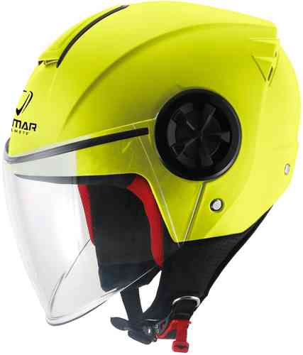 Vemar Air Solid Casco Jet Amarillo M