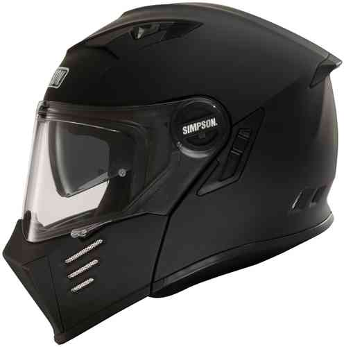 Simpson Darksome Solid Casco de moto Negro 2XL
