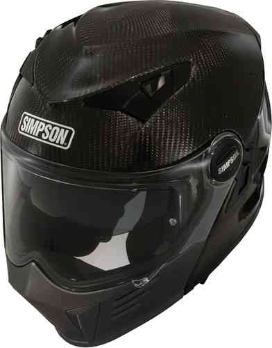 Simpson Darksome Carbon Casco de moto Carbono 2XL