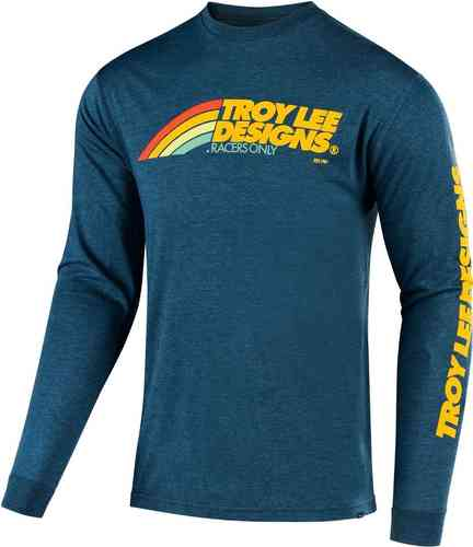 Troy Lee Designs Flowline Manga larga Azul 2XL