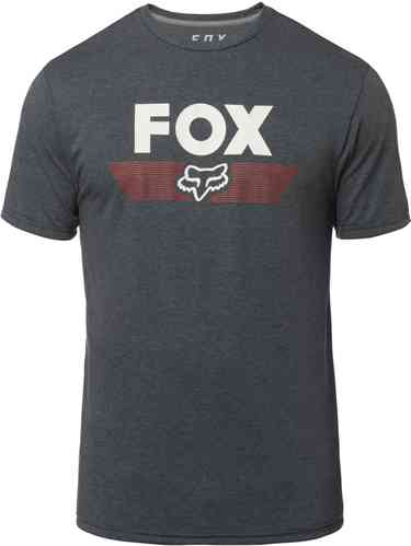 FOX Aviator Tech Tee T-shirt Gris Azul S