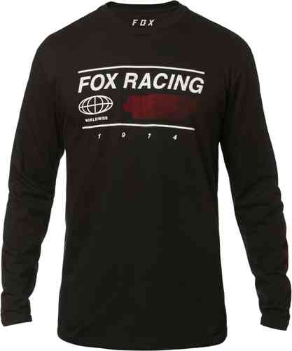 FOX Global Tee Camiseta Negro 2XL