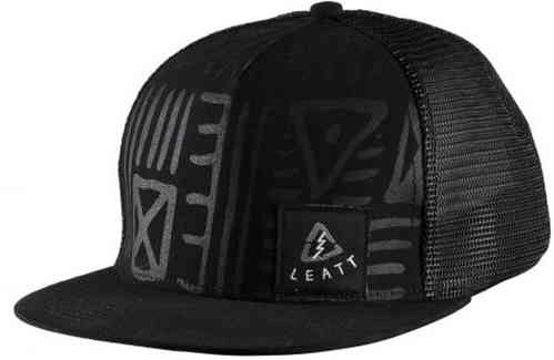 Leatt Tribal Cap Negro un tamaño