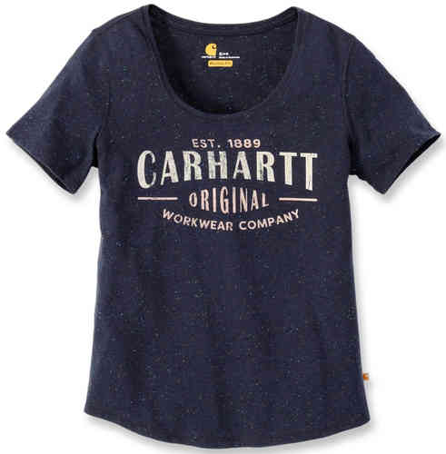 Carhartt Workwear Lockhart Graphic Mujeres camiseta Azul XL