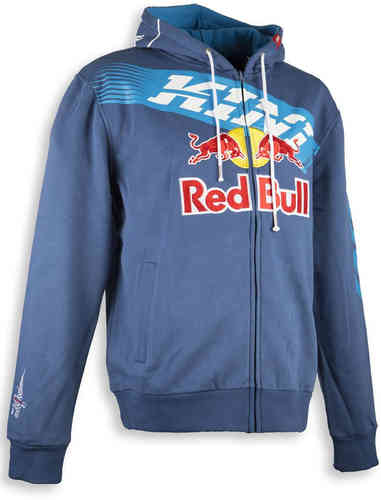 Kini Red Bull Athletic Kids Hoodie Azul 2XS