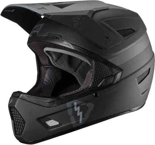 Leatt DBX 3.0 DH V19 Black Casco de descenso Negro L