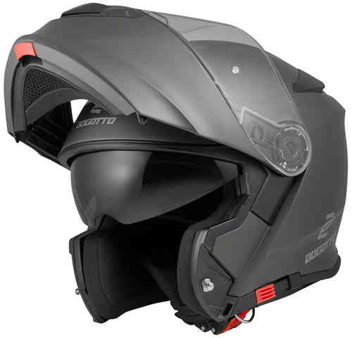 Bogotto V271 Motorcycle Helmet Black Grey L