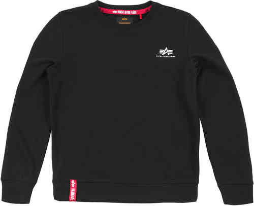 Alpha Industries Basic Small Logo Ladies Sweater Negro L