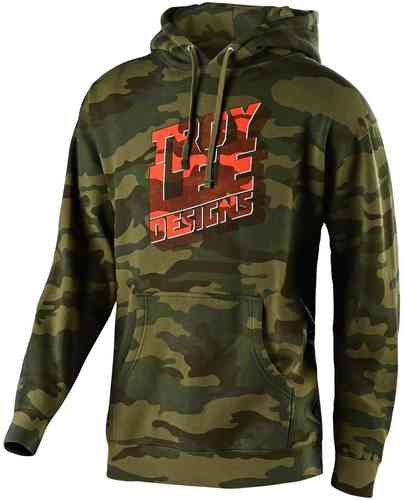 Troy Lee Designs Block Party sudadera con capucha Multicolor 2XL