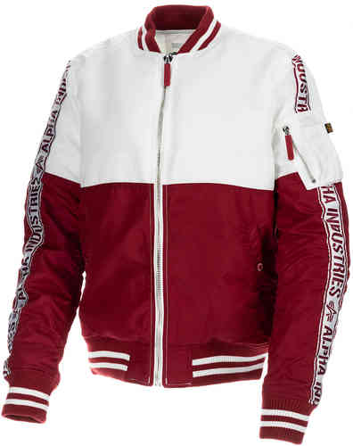 Image of Alpha Industries MA-1 Giacca Da donna Rosso L