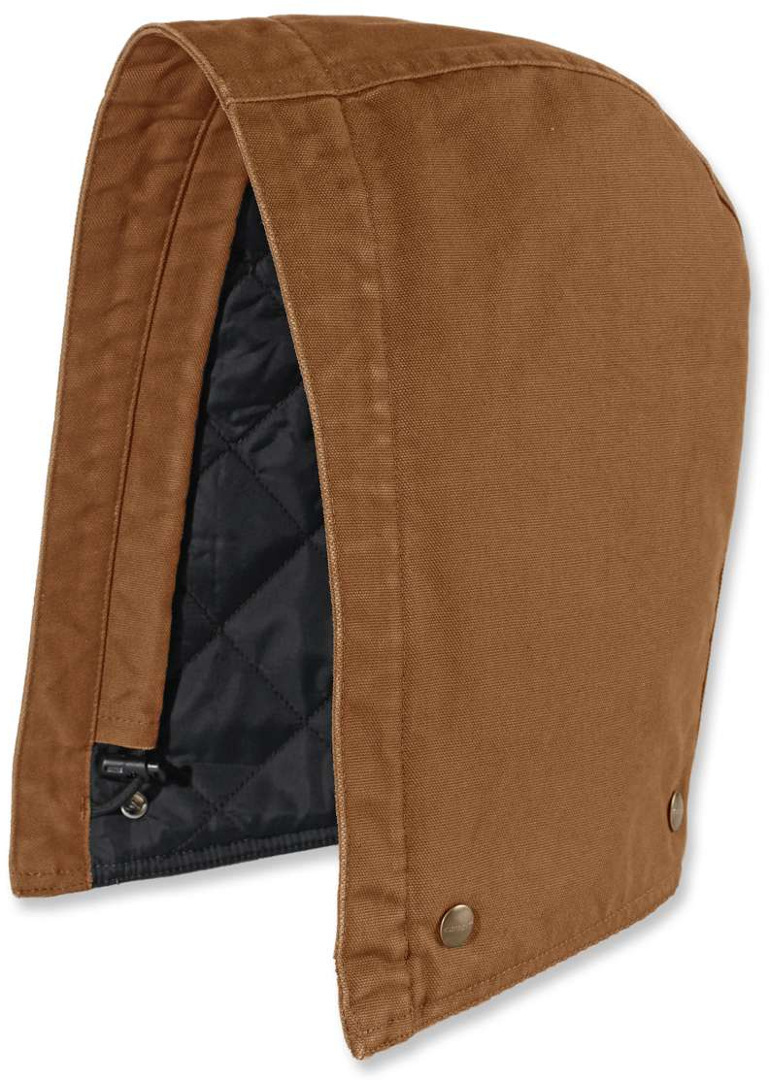 Carhartt Washed Duck capuche Brun S M