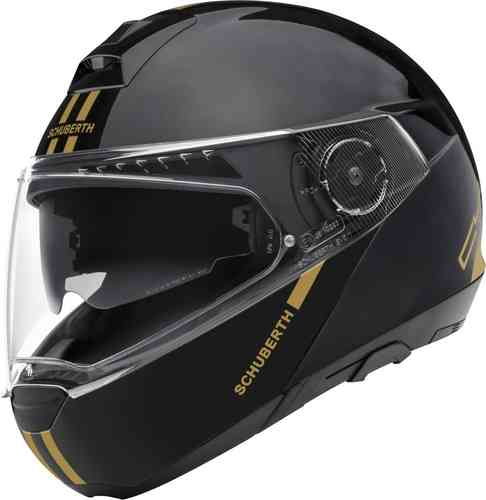 Motorcycles & accessories Schuberth C4 Pro Fusion Gold Limited Edition Carbon Helm Zwart Goud XS