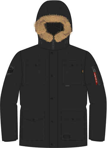 Alpha Industrie Mountain III Chaqueta Negro 2XL