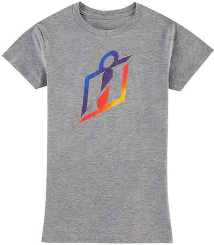 Icon RS Gradient Camiseta de señora Gris L