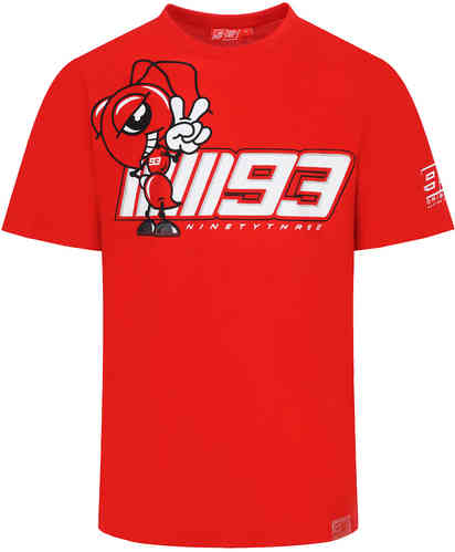 GP-Racing 93 MM93 Cartoon Ant Camiseta Rojo XL