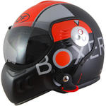 Roof Boxer V8 Graphic Helm oranje