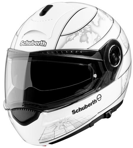 schuberth c3 klapphelm world weiss g nstig kaufen fc moto. Black Bedroom Furniture Sets. Home Design Ideas
