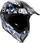 AGV AX-8 5 Gothic Flame Motorcross helm