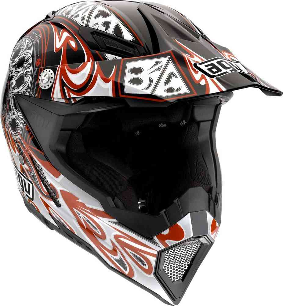 AGV AX-8 5 Gothic Flame Motocross kask