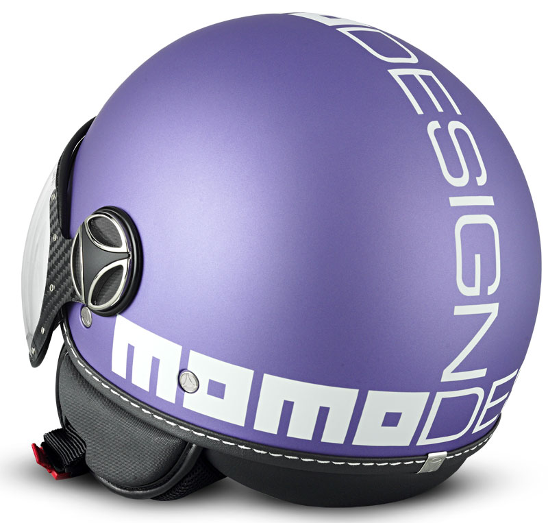 Momo model fgtr lilac matt logo white buy cheap fc moto