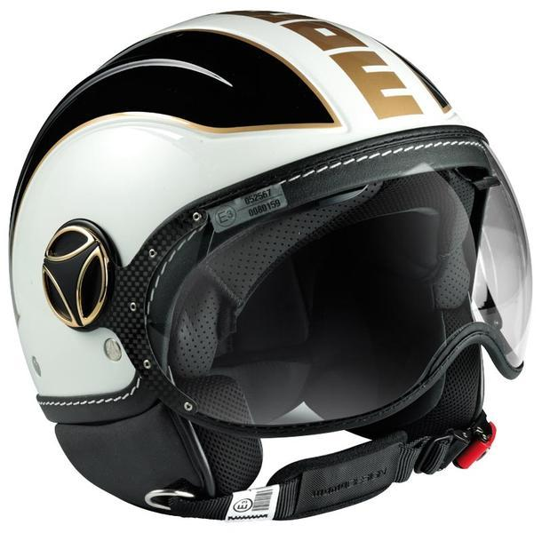 MOMO Avio White Quarz/Black/Gold