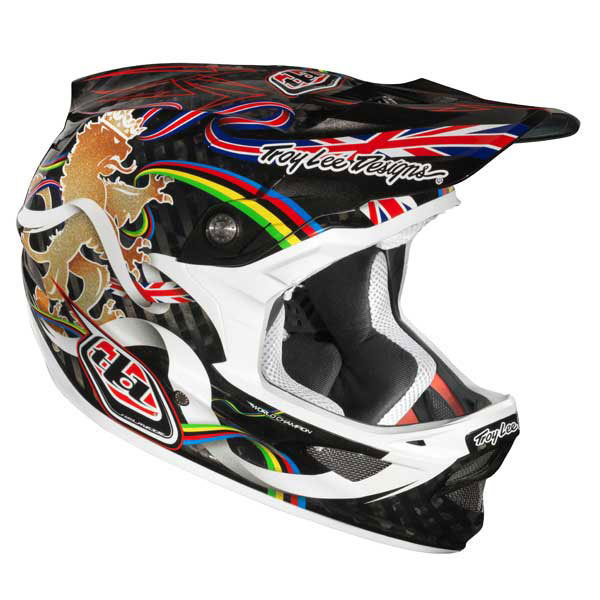 Troy Lee Designs D3 Peat World Champ Helmet