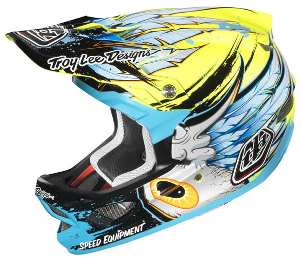 Troy Lee Designs D3 Speedwing Yellow