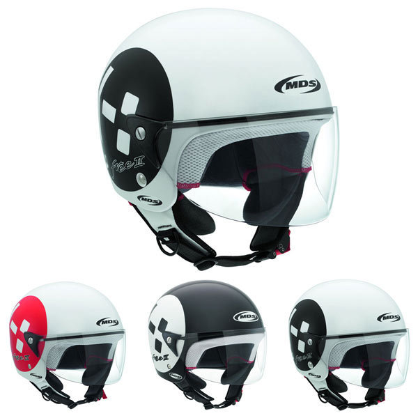 MDS Free 2 Emoticon Jet Helmet