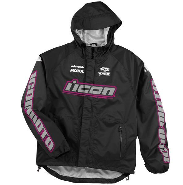 Chaqueta impermeable mujer icon
