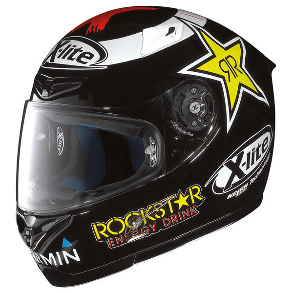 x lite x802 lorenzo black replica 48 helmet. Black Bedroom Furniture Sets. Home Design Ideas