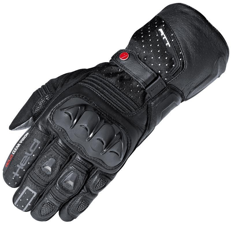 Free Shipping Held Air N Dry Black Grey 2 in 1 Gore-Tex Motorcycle Gloves