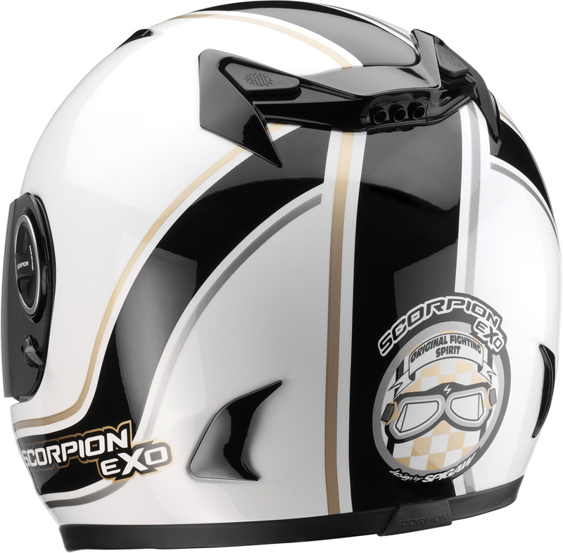 scorpion exo 750 air vintage helmet fc. Black Bedroom Furniture Sets. Home Design Ideas