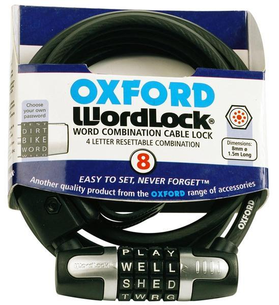 Oxford Worldlock Cable Lock 150cm