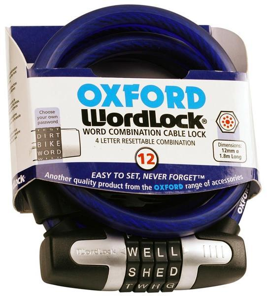 Oxford Worldlock Cable Lock 180cm