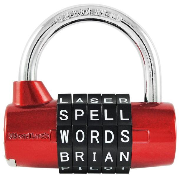 Oxford Wordlock Padlock 5D