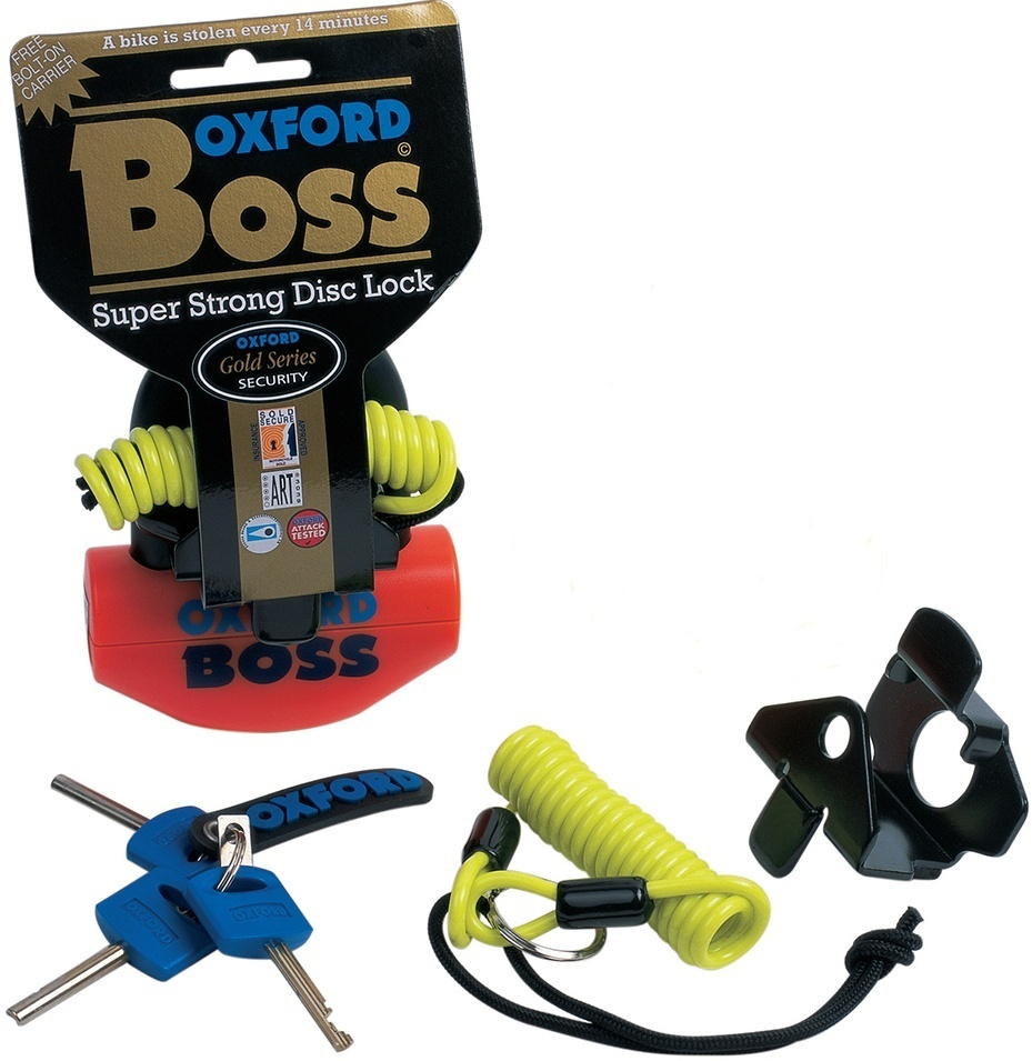 Oxford Boss 12,7mm Bloqueo de disco