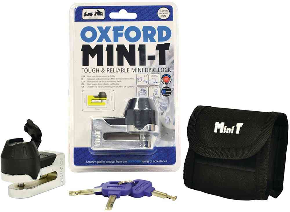Oxford Mini T Disc Lock