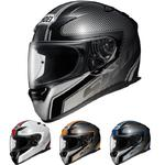 Shoei XR-1100 Transmission Helm - Schwarz/Blau, S (55/56)