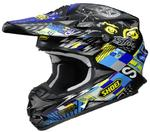 Shoei VFX-W Krack TC-11 Casque Motocross