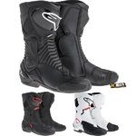 Alpinestars S-MX 6 Boots - White/Black/Red, 39