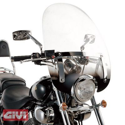 GIVI A35NG Universal Windshield Transparent, clear, clear, Size One Size