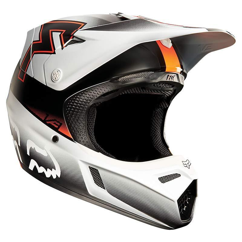 FOX V3 Franchise Motocross Helm 11943-009-S