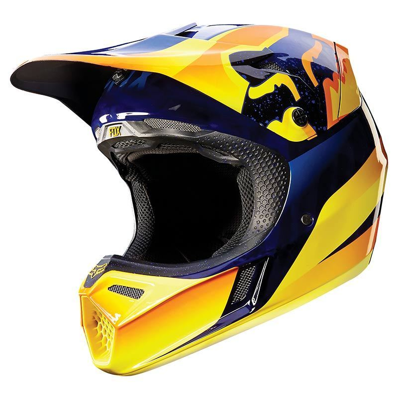 fox v3 flight mx helm g nstig kaufen fc moto. Black Bedroom Furniture Sets. Home Design Ideas