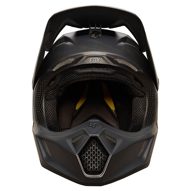 fox v3 matte black mx helm g nstig kaufen fc moto. Black Bedroom Furniture Sets. Home Design Ideas