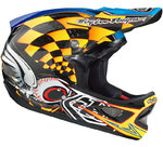 Troy Lee Designs D3 Finishline Carbon