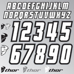 Thor Jersey ID Kit Sticker