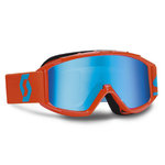 SCOTT 89Si Pro Chrome Works Kids MX Goggles Blue